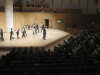 水戸芸術館 避難訓練コンサート 写真
